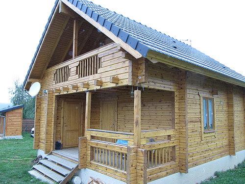 Azur et or immobilier biens for Chalet prix construction